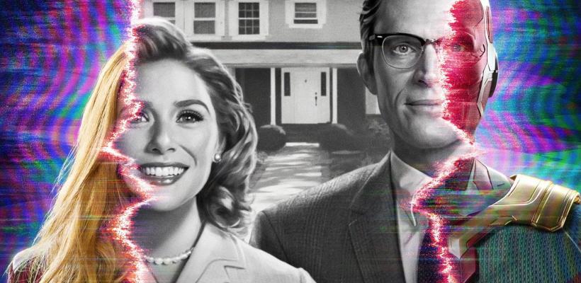 WandaVision: Imágenes del set revelan los nuevos atuendos de Elizabeth Olsen y Paul Betanny
