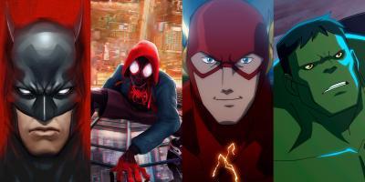 Películas animadas de superhéroes que superaron a las live-action