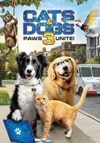 Como perros y gatos 3 ¡patas...