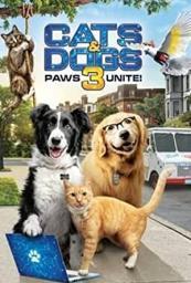 Como perros y gatos 3 ¡patas unidas!