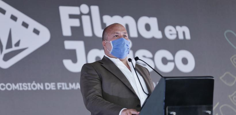 Gobernador de Jalisco anuncia nueva ley de cine para combatir extinción de fideicomisos