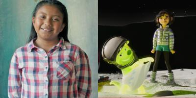 Xóchitl, la niña genio de Chiapas, reseña Más Allá de la Luna