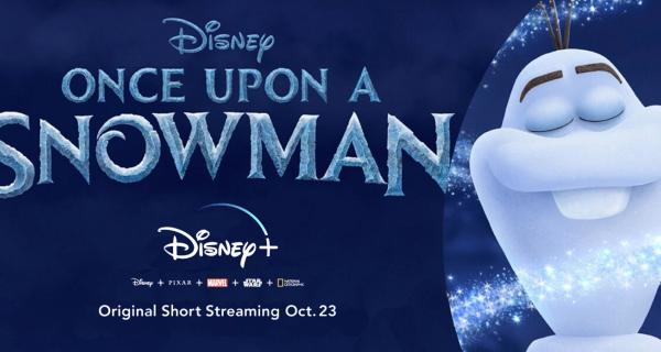 Once Upon a Snowman | Clip Oficial