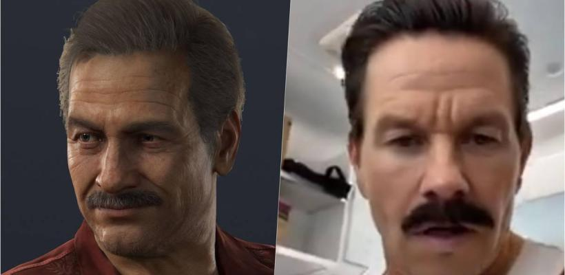 Uncharted: Mark Wahlberg revela el primer vistazo a Sully
