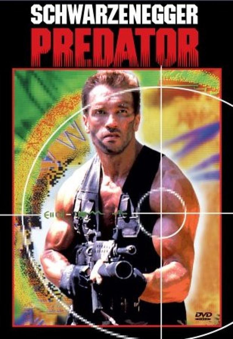 Póster oficial de Depredador (1987).