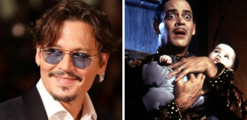 Los Locos Addams: Fans piden que Johnny Depp sea Homero Addams en el live-action de Tim Burton