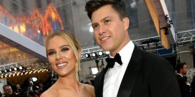 Scarlett Johansson se casa con Colin Jost después de tres años de noviazgo