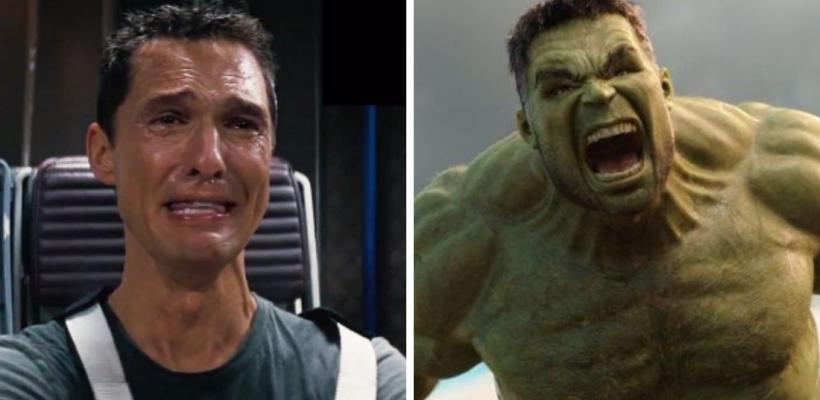 Matthew McConaughey quería interpretar a Hulk en el MCU pero Marvel lo rechazó