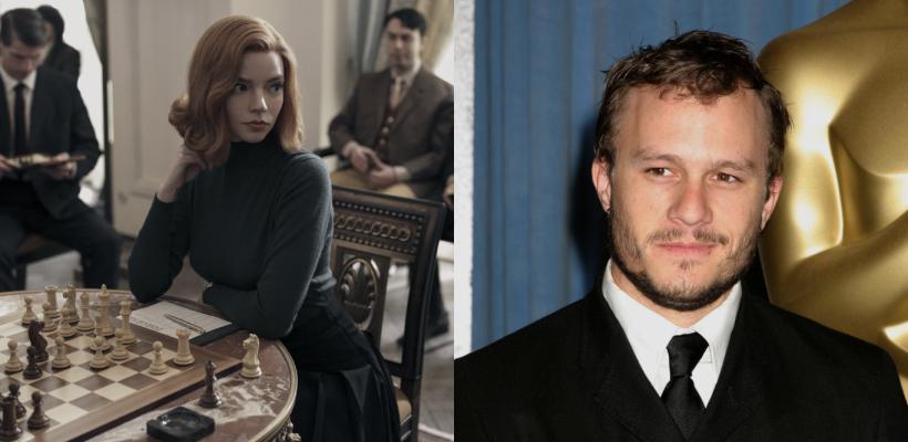 Gambito de Dama: Heath Ledger iba a dirigir una película con Ellen Page