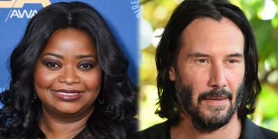 Keanu Reeves lo vuelve a hacer: Octavia Spencer cuenta que el actor la ayudó cuando más lo necesitaba