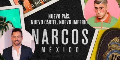 """Narcos: México 3: Bad Bunny será Arturo """"Kitty"""" Paez y Luis Gerardo Méndez se une al elenco"""