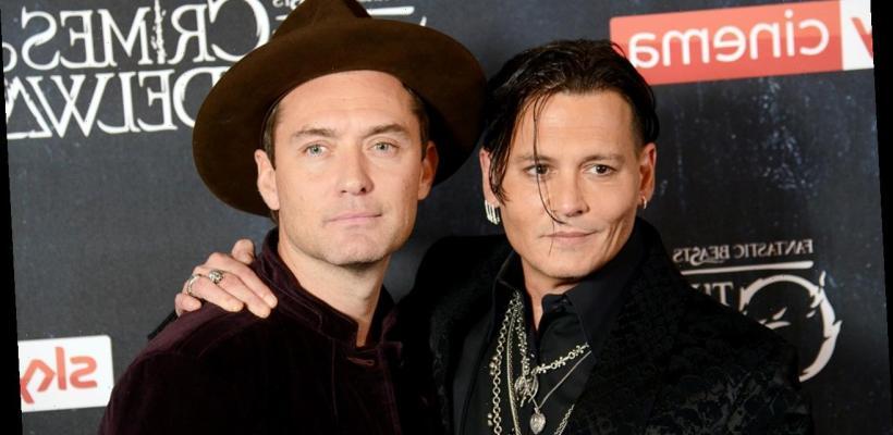 Animales Fantásticos 3: Jude Law se ve forzado a apoyar el despido de Johnny Depp