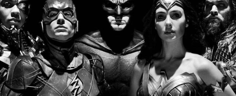 Justice League Snyders Cut - Trailer en blanco y negro