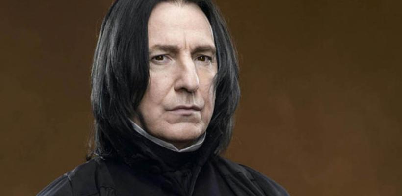 Los diarios de Alan Rickman, Severus Snape en Harry Potter, se publicarán como libro de memorias