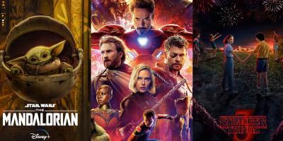 Encuesta revela que The Mandalorian, Avengers y Stranger Things son las principales franquicias de entretenimiento