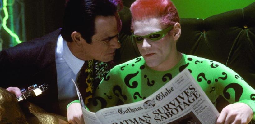 Warner Bros. estaría buscando que Jim Carrey sea El Acertijo en la película de Flash