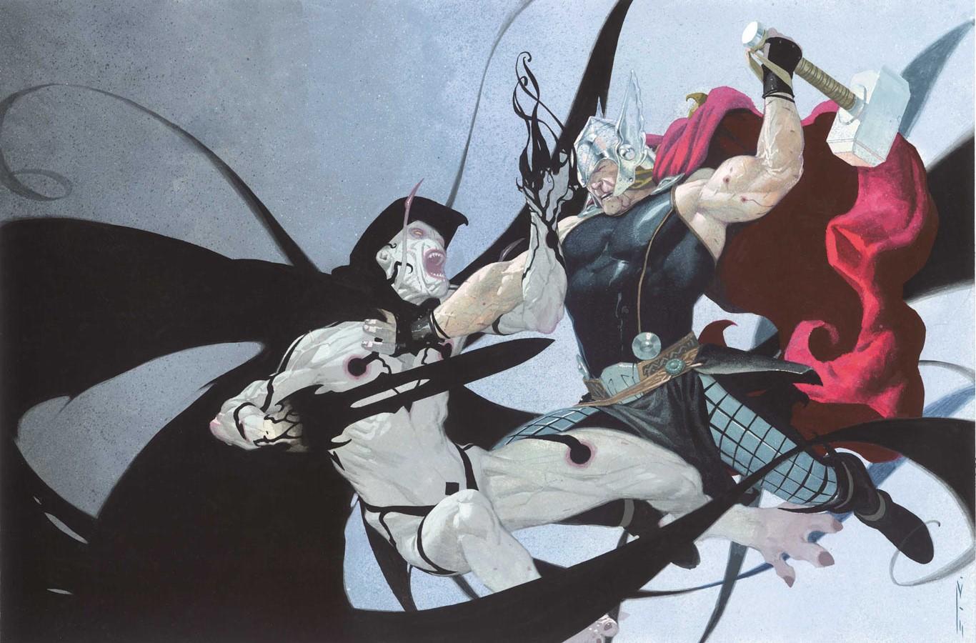 Gorr vs. Thor