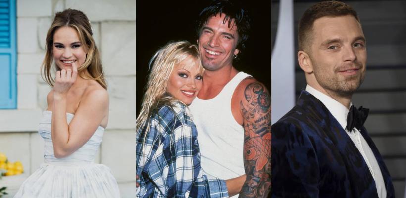Lily James y Sebastian Stan serán Pamela Anderson y Tommy Lee en serie sobre su escándalo sexual