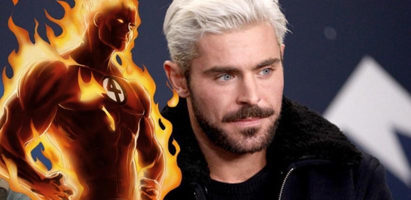 Los Cuatro Fantásticos: Apuestas colocan a Zac Efron entre los favoritos para ser la Antorcha Humana