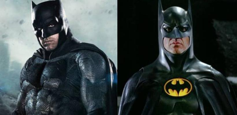 Michael Keaton reemplazará a Ben Affleck como el Batman más maduro del DCEU