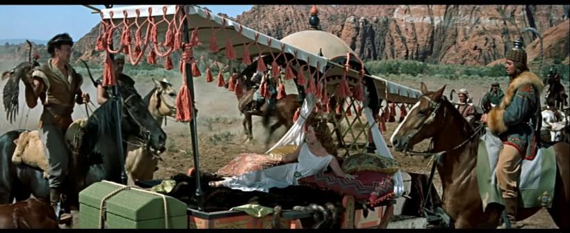 The Conqueror (1956) - Clip de la película
