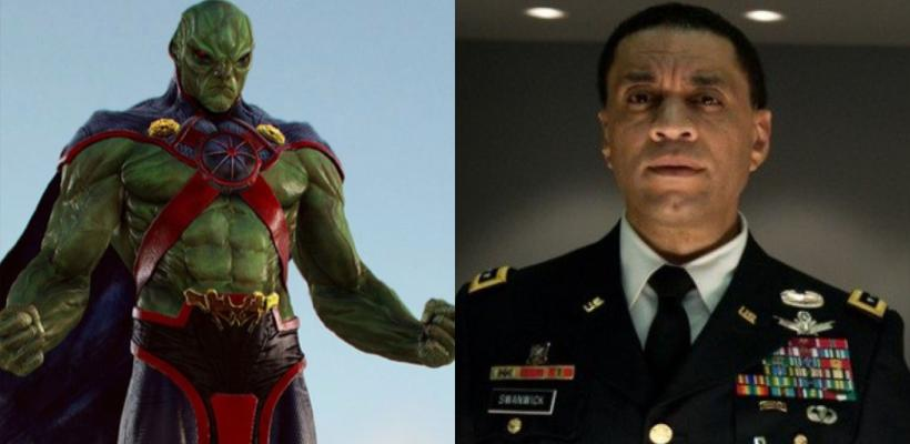 Harry Lennix confirma que es Martian Manhunter en Zack Snyder's Justice League