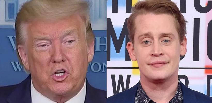 Macaulay Culkin también quiere que Donald Trump sea eliminado de Mi Pobre Angelito 2