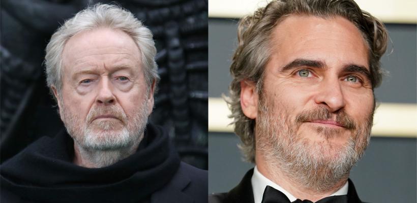 Apple Studios adquiere Kitbag, la nueva película de Ridley Scott y Joaquin Phoenix