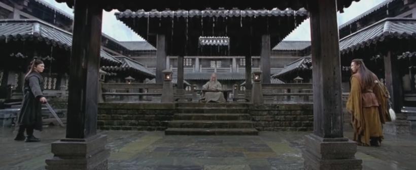 Héroe (2004)   Jet Li vs. Donnie Yen