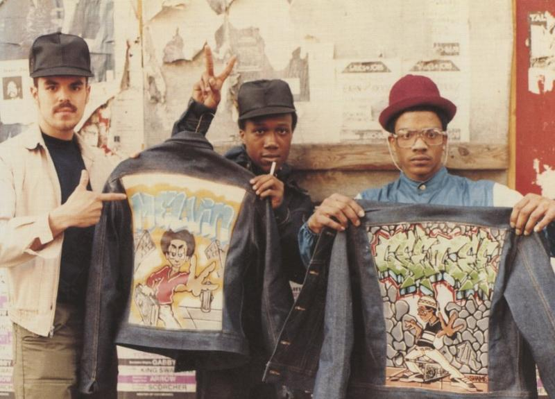 © B boys on the street, Brooklyn circa 1983. Photograph by Jamel Shabazz. (c) 2015 Cable News Network. A Time Warner Company. All