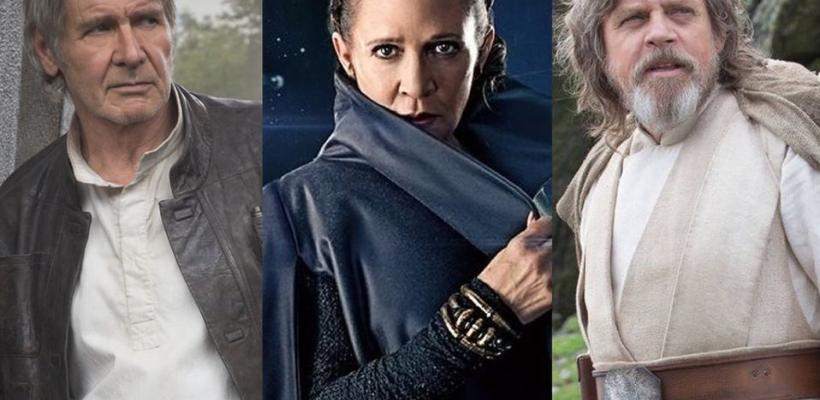 Rumor: Disney planea remake de su trilogía de Star Wars con metraje inédito de Han, Leia y Luke