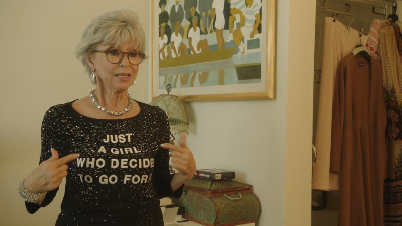 Rita Moreno: Just a Girl Who Decided to Go for It (2021)