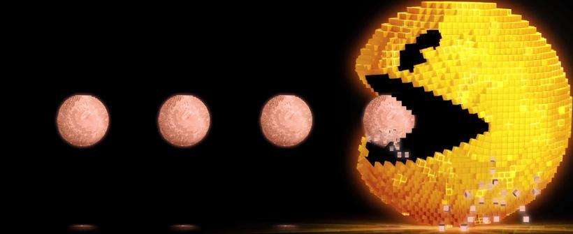Nuevo clip de Pixeles: 35 aniversario de Pac Man