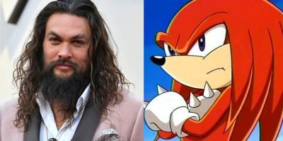 Jason Momoa podría interpretar a Knuckles en la secuela de Sonic, la película