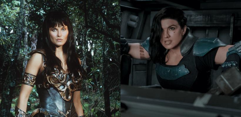 The Mandalorian: fans quieren a Lucy Lawless como reemplazo de Gina Carano