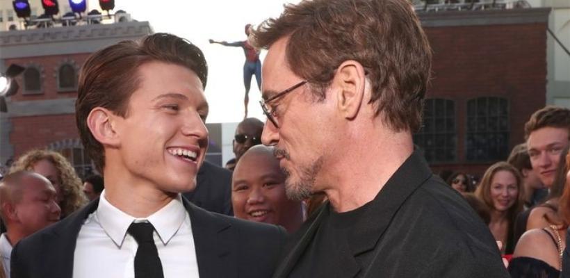 Tom Holland dice que Zendaya y Robert Downey Jr. han influido en él como actor