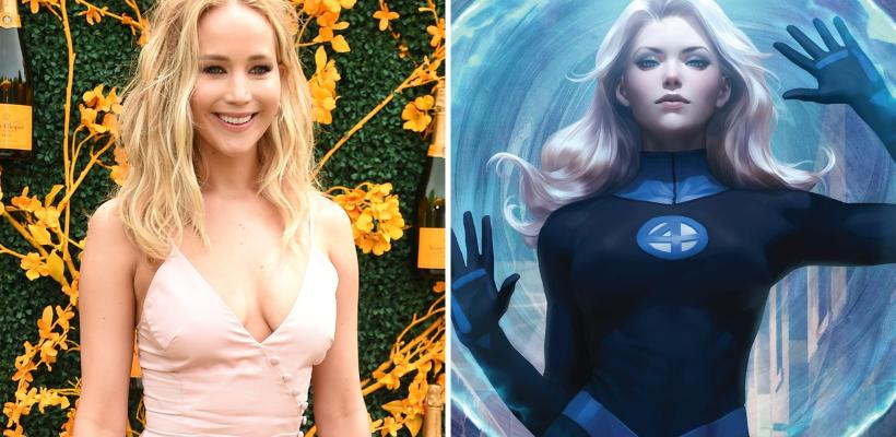 Jennifer Lawrence podría interpretar a Sue Storm en el Universo Cinematográfico de Marvel