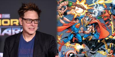 James Gunn comparte el crossover de Marvel y DC más popular de Internet