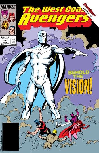 White Vision en los cómics