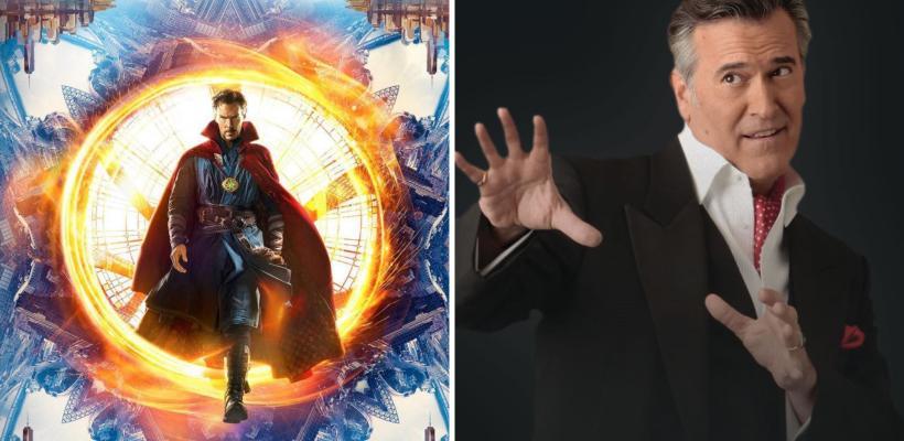 Bruce Campbell ya habría filmado su cameo para Doctor Strange in the Multiverse of Madness