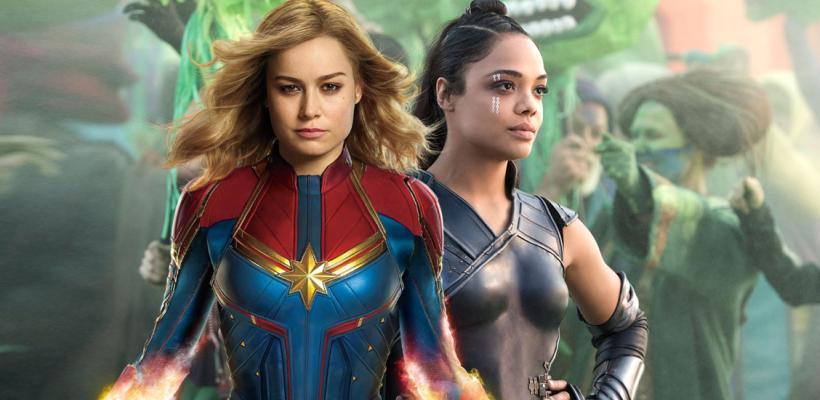 Brie Larson sugiere que Capitana Marvel y  Valkyrie serán pareja en el MCU