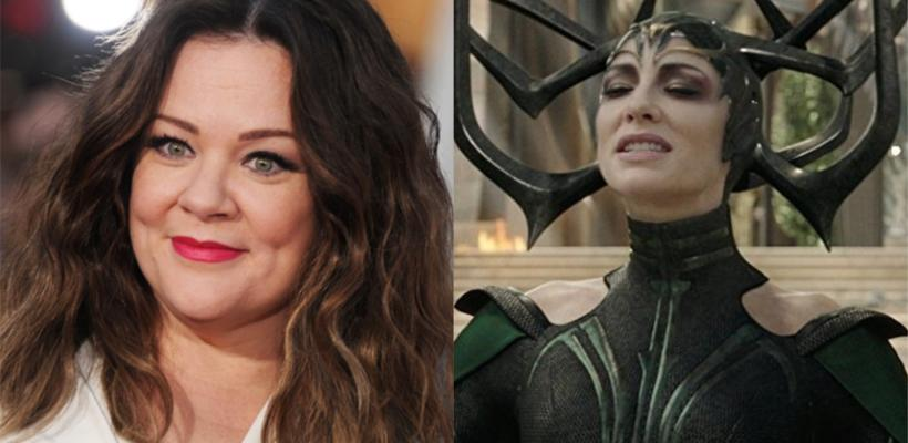 Thor: Love and Thunder: Melissa McCarthy aparece como Hela en fotos del set