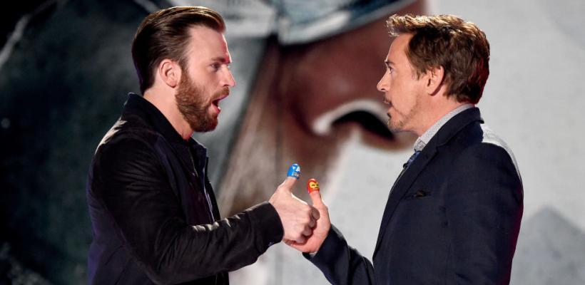 Chris Evans considera que nadie más debería interpretar a Iron Man después de Robert Downey Jr.