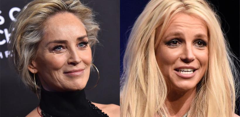 Sharon Stone reveló que Britney Spears le escribió una carta pidiéndole ayuda
