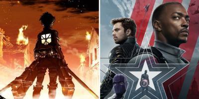 Falcon y el Soldado del Invierno supera a Attack on Titan como la serie más popular del mundo