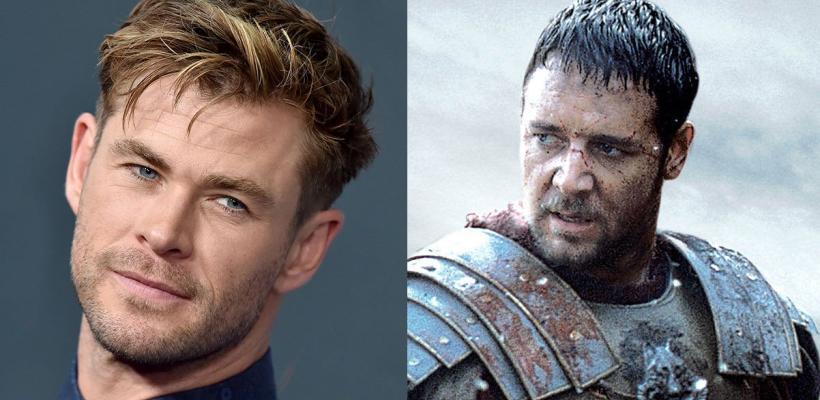 Chris Hemsworth podría interpretar al hijo de Máximo en Gladiador 2