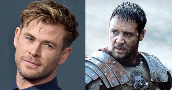 Chris Hemsworth podría interpretar al hijo de Máximo en Gladiador 2   Tomatazos