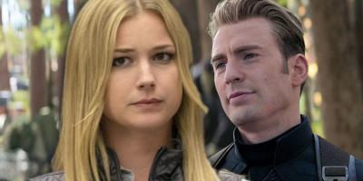 Emily VanCamp admite que su beso con el Capitán América complicó las cosas en el MCU