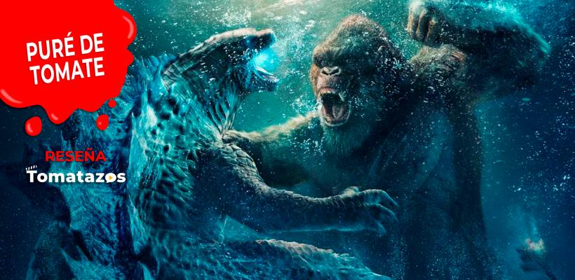 RESEÑA: Godzilla vs Kong | Batman vs. Superman a lo grande