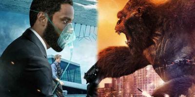Godzilla vs. Kong está por superar a Tenet y convertirse en la película más taquillera de la pandemia